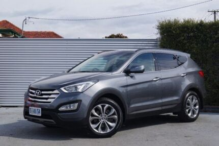 2013 Hyundai Santa Fe DM MY13 Highlander Silver 6 Speed Auto Seq Sportshift Wagon South Launceston Launceston Area Preview