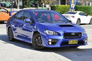 2015 Subaru WRX V1 MY16 STI AWD Blue 6 Speed Manual Sedan Southport Gold Coast City Preview