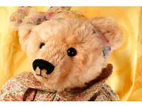 "Artist Bear by Bainbridge Bears ""Celia"" One of only one."