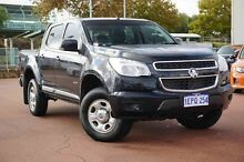 2014 Holden Colorado RG MY14 LX Crew Cab Black 6 Speed Sports Automatic Utility Glendalough Stirling Area Preview