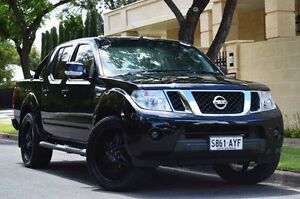 2013 Nissan Navara D40 S6 MY12 ST Black 6 Speed Manual Utility Thorngate Prospect Area Preview