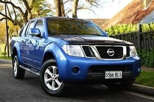 2012 Nissan Navara D40 S6 MY12 ST-X King Cab Silver 5 Speed Automatic Utility Thorngate Prospect Area Preview