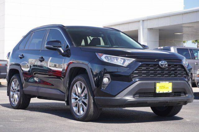 Owner 2019 Toyota RAV4 Xle Premium 6745 Miles Black Sport Utility Regular Unleaded I-4