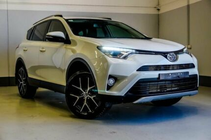 2016 Toyota RAV4 ZSA42R GXL 2WD White 7 Speed Constant Variable Wagon Wangara Wanneroo Area Preview
