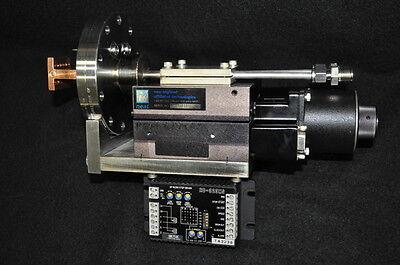 Servo Drive Water Cooled Ultra High Vacuum Linear Actuator 4.61 Conflat Cf