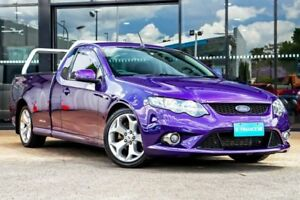 2011 Ford Falcon FG MkII XR6 Ute Super Cab Turbo Purple 6 Speed Sports Automatic Utility Parramatta Parramatta Area Preview