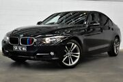 2012 BMW 320i F30 MY0812 Black 8 Speed Sports Automatic Sedan Thornlie Gosnells Area Preview