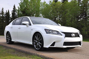 2013 Lexus GS350 AWD F-Sport LOW KMS - LEATHER-SUN-NAV & MORE!