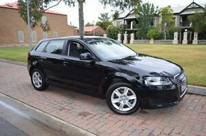 2008 Audi A3 8P Attraction Sportback Tiptronic Black 6 Speed Sports Automatic Hatchback Stepney Norwood Area Preview