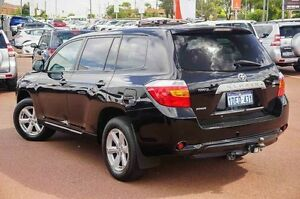 2009 Toyota Kluger GSU40R KX-R 2WD Black 5 Speed Sports Automatic Wagon Westminster Stirling Area Preview