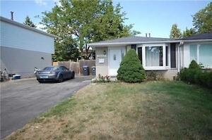 Bright And Spacious Clarkson Semi-Detached Bungalow.