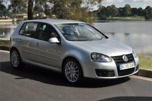2007 Volkswagen Golf 1K MY08 Upgrade GT Sport TDI Silver 6 Speed Direct Shift Hatchback