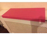 Floating shelf. High Gloss Pink