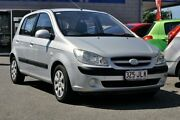 2006 Hyundai Getz TB MY06 Space Silver 5 Speed Manual Hatchback Main Beach Gold Coast City Preview