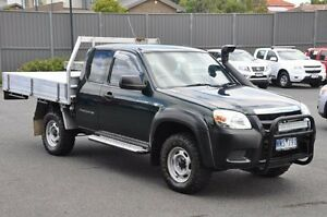 2008 Mazda BT-50 UNY0E4 DX+ Freestyle Black 5 Speed Manual Cab Chassis Knoxfield Knox Area Preview