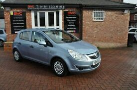VAUXHALL CORSA 1.2 LIFE A/C 5d 80 BHP VERY LOW MILES. (blue) 2008