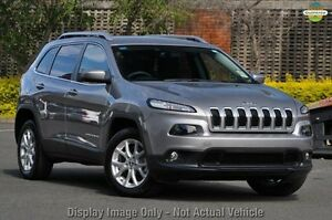 2014 Jeep Cherokee KL MY15 Longitude Billet Silver 9 Speed Sports Automatic Wagon Blacktown Blacktown Area Preview