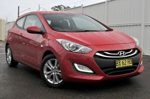 2013 Hyundai i30 GD SE Coupe Red 6 Speed Sports Automatic Hatchback Gosford Gosford Area Preview