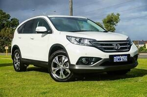 2014 Honda CR-V RM MY14 DTi-L 4WD White 5 Speed Sports Automatic Wagon Wangara Wanneroo Area Preview