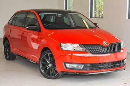 2015 Skoda Rapid NH MY16 Monte Carlo Spaceback DSG Red 7 Speed Sports Automatic Dual Clutch Melville Melville Area Preview