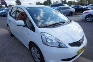 2010 Honda Jazz GE MY10 GLi White Automatic Hatchback