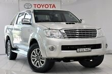 2010 Toyota Hilux KUN26R MY10 SR5 Sterling Silver 5 Speed Manual Utility Waterloo Inner Sydney Preview