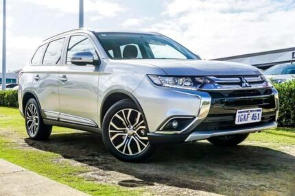 2017 Mitsubishi Outlander ZK MY18 LS AWD Silver 6 Speed Constant Variable Wagon Wangara Wanneroo Area Preview