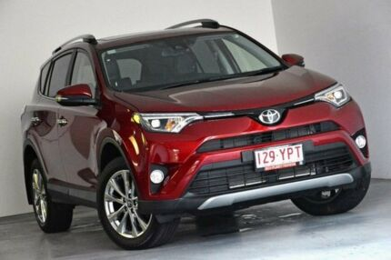 2017 Toyota RAV4 ALA49R Cruiser AWD Red 6 Speed Sports Automatic Wagon Albion Brisbane North East Preview