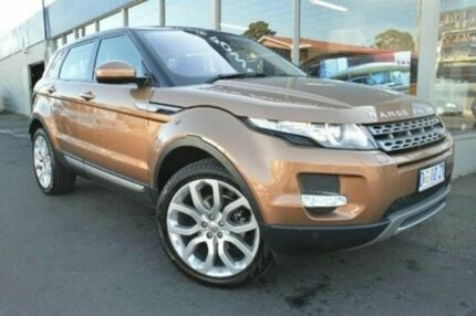 2014 Land Rover Range Rover Evoque L538 MY15  9 Speed Auto Seq Sportshift Wagon Derwent Park Glenorchy Area Preview