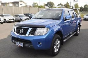 2013 Nissan Navara D40 S6 MY12 ST Blue 6 Speed Manual Utility Knoxfield Knox Area Preview