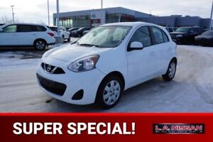 2015 Nissan MICRA SV Accident Free,  Back-up Cam,  Bluetooth,