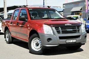 2011 Isuzu D-MAX MY11 SX Red 5 Speed Manual Utility North Gosford Gosford Area Preview