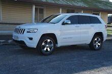 2014 Jeep Grand Cherokee WK MY2014 Overland White 8 Speed Sports Automatic Wagon Rockhampton 4700 Rockhampton City Preview