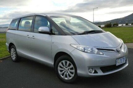 2013 Toyota Tarago ACR50R MY13 GLi Silver 7 Speed Constant Variable Wagon