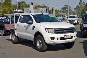 2013 Ford Ranger White 6 Speed Automatic Ebbw Vale Ipswich City Preview