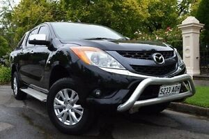 2011 Mazda BT-50 UP0YF1 XTR Black 6 Speed Sports Automatic Utility Thorngate Prospect Area Preview