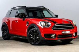 2018 Mini Countryman F60 Cooper Steptronic Chilli Red 6 Speed Sports Automatic Wagon Darlinghurst Inner Sydney Preview