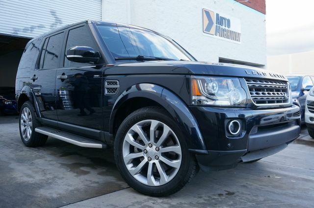 2016 Land Rover LR4 for sale!