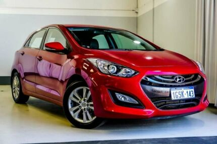 2014 Hyundai i30 GD2 MY14 Trophy Red Mica 6 Speed Manual Hatchback Wangara Wanneroo Area Preview