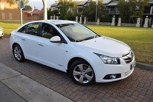 2010 Holden Cruze JG CDX White 6 Speed Sports Automatic Sedan Stepney Norwood Area Preview