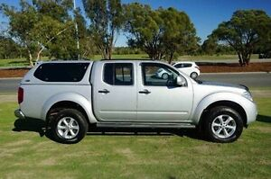 2012 Nissan Navara D40 S6 MY12 ST Silver 5 Speed Sports Automatic Utility Wangara Wanneroo Area Preview