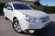 2012 Subaru Outback B5A MY12 2.5i Lineartronic AWD Premium White 6 Speed Constant Variable Wagon Glenelg East Holdfast Bay Preview
