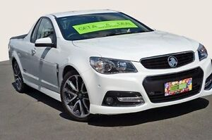 2014 Holden Ute VF MY14 SS V Ute White 6 Speed Manual Utility Coolangatta Gold Coast South Preview