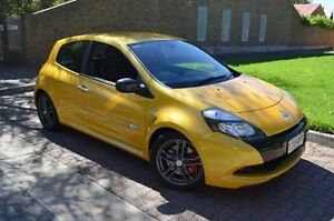 2012 Renault Clio X85 MY12 Sport 200 Cup Yellow 6 Speed Manual Hatchback Stepney Norwood Area Preview