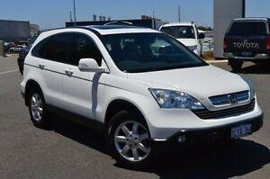 2008 Honda CR-V MY07 (4x4) Luxury White 5 Speed Automatic Wagon Wangara Wanneroo Area Preview