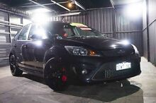 2009 Ford Focus LV XR5 Turbo Black 6 Speed Manual Hatchback Wangara Wanneroo Area Preview