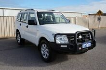 2013 Mitsubishi Pajero NW MY14 GLX White 5 Speed Sports Automatic Wagon Pearsall Wanneroo Area Preview