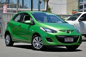 2010 Mazda 2 DE10Y1 Neo Green 5 Speed Manual Hatchback Main Beach Gold Coast City Preview