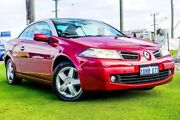 2009 Renault Megane II E84 Phase II Dynamique Red 4 Speed Automatic Cabriolet Osborne Park Stirling Area Preview