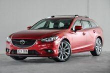 2013 Mazda 6 GJ1021 Atenza SKYACTIV-Drive Red 6 Speed Sports Automatic Wagon Robina Gold Coast South Preview